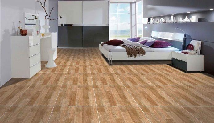 cách lát gạch giả gỗ hình khối